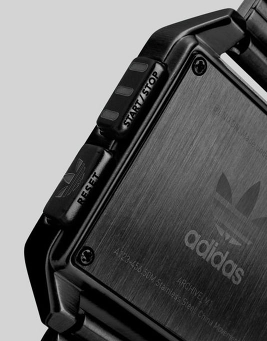 Adidas Archive M1 Watch - All Black