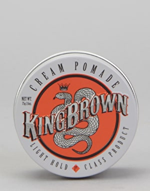 King Brown Cream Pomade 75g Hair Product