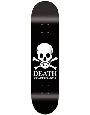 Death OG Skull Skateboard Deck - 8.38