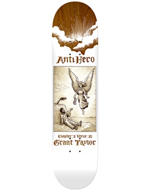 Anti Hero Taylor Book of Anti Hero Skateboard Deck - 8.75
