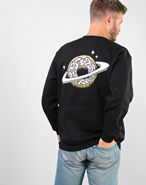 Skateboard Café Planet Donut Sweatshirt - Black