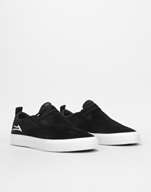 Lakai Riley Hawk II Skate Shoes - Black Suede