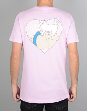 RIPNDIP I Knead You T-Shirt - Pink