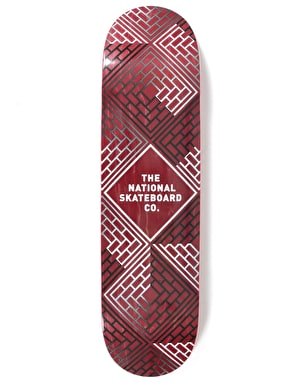 The National Skateboard Co. Classic Team Deck - 8.25
