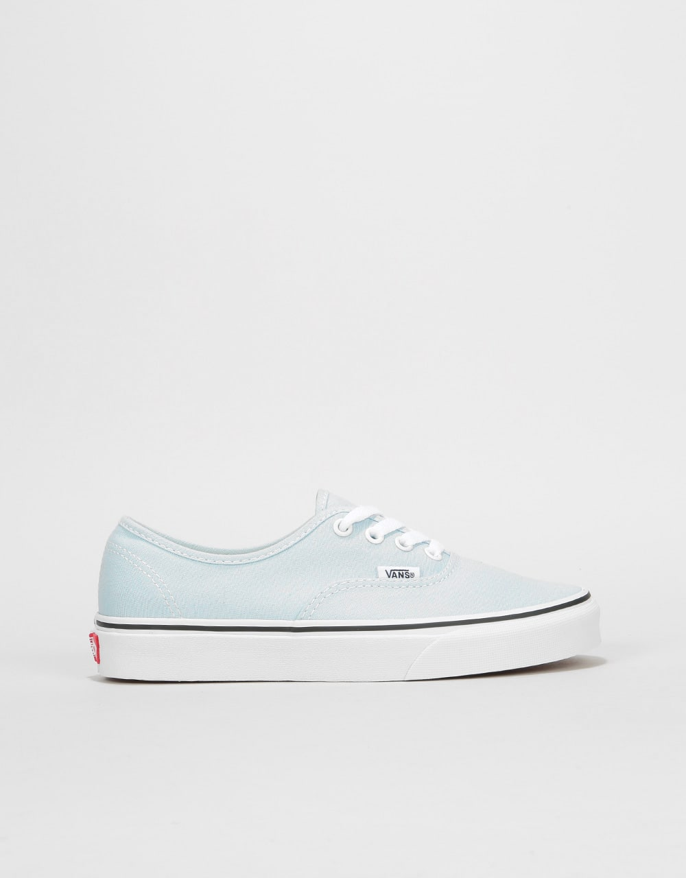 1a339a098fc805 Vans Authentic Womens Trainers - Baby Blue True White