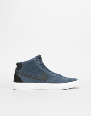 Nike SB Bruin Hi Womens Trainers - Thunder Blue/Black-Summit White