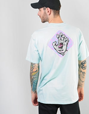 Santa Cruz Extinct Hand T-Shirt - Blue Glow