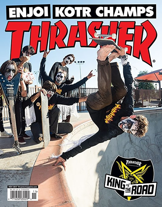 Thrasher Magazine Issue 448 November 2017