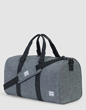 Herschel Supply Co. Ravine Duffel Bag - Crosshatch/Black