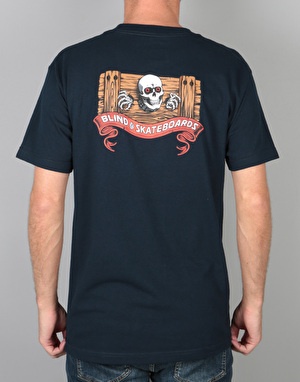 Blind Skull Series Heritage T-Shirt - Navy