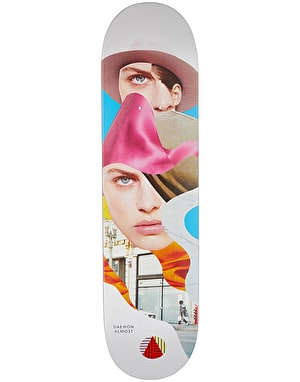 Almost Daewon Girl Collage Skateboard Deck - 8.125