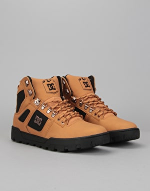 DC Spartan High WR Boots - Wheat/Dark Chocolate