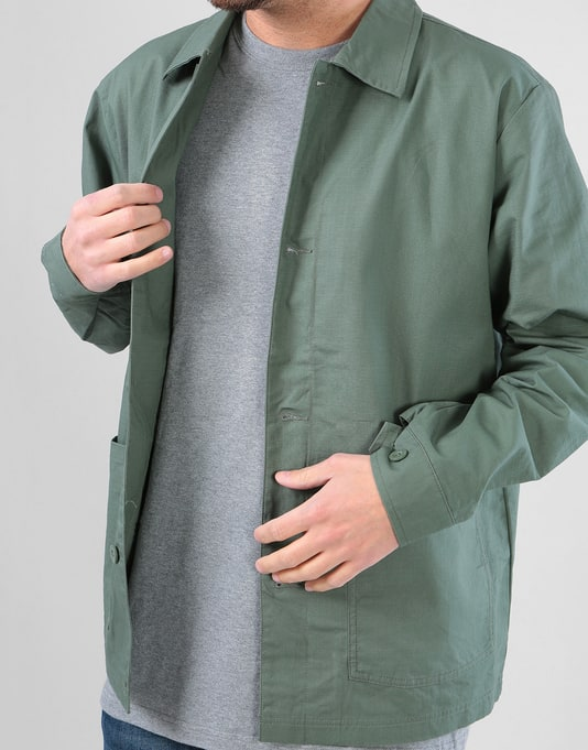 RIPNDIP Great Wave Military Jacket - Olive