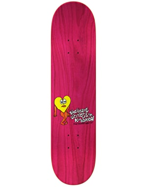 Krooked Worrest The Heart Skateboard Deck - 8.06