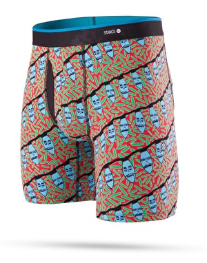 Stance Creature Xmas Boxer Shorts - Red