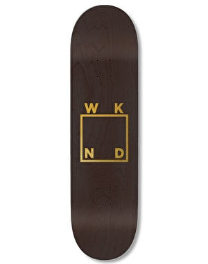 WKND Gold Logo Team Deck - 8.5