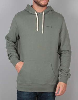 Diamond Supply Co. Script Pullover Hoodie - Green