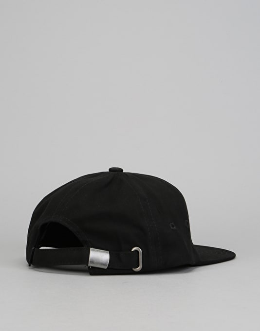 RIPNDIP Hugger 6 Panel Cotton Twill Cap - Black