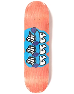 Polar Brady Dane Face 2 Skateboard Deck - 8.25