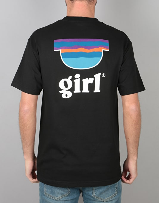 Girl Pipe T-Shirt - Black