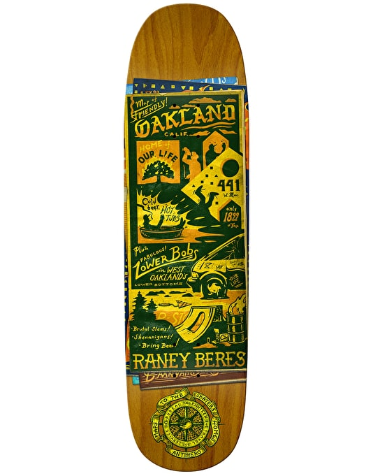 Anti Hero Beres Maps to the Skaters Homes Pro Deck - 8.63""