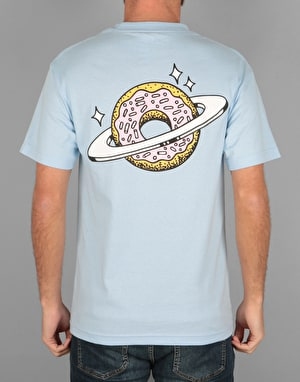 Skateboard Café Planet Donut T-Shirt - Powder Blue