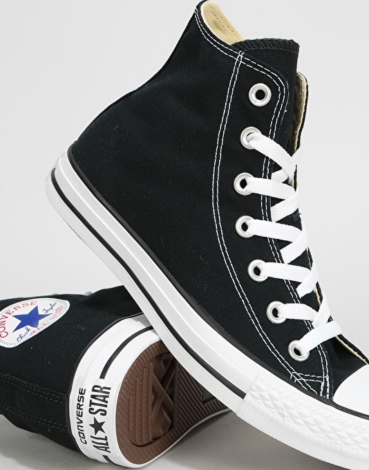 Converse All Star Hi-Top Womens Trainers - Black