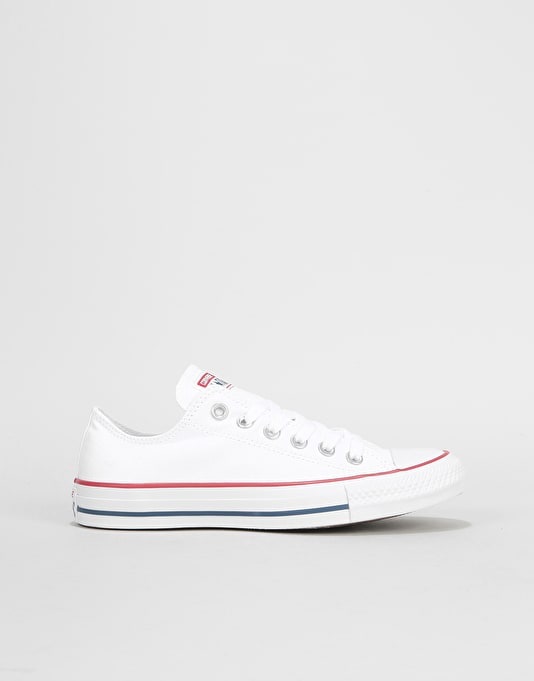 Converse All Star Low Womens Trainers - Optical White