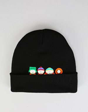 HUF x South Park Kids Beanie - Black