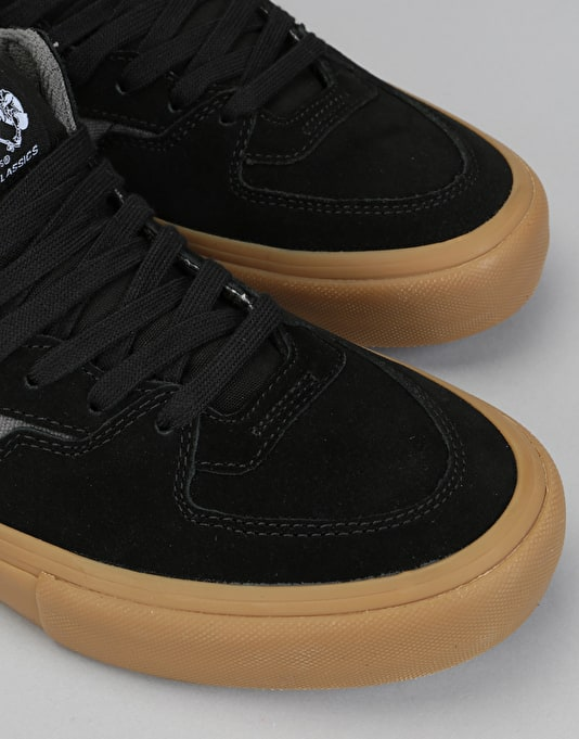 a139305b8fc368 Vans Half Cab Pro Skate Shoes - Black Pewter Gum