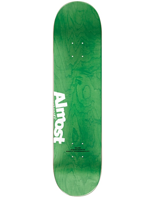 Almost x Hanna-Barbera Daewon Tom Face Skateboard Deck - 8.25""