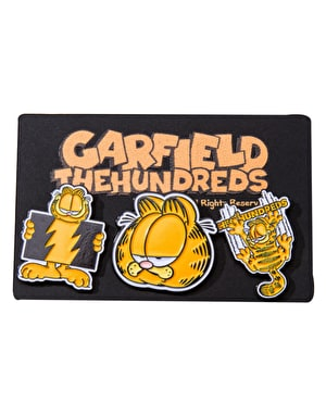 The Hundreds x Garfield Pin Set - Multi