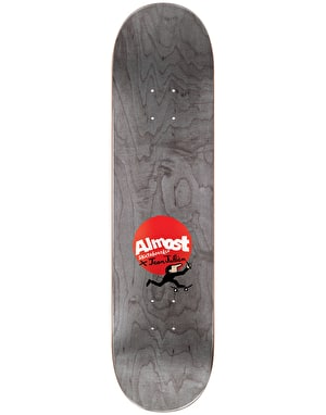 Almost x Jean Jullien Mullen Monsters Skateboard Deck - 8.125