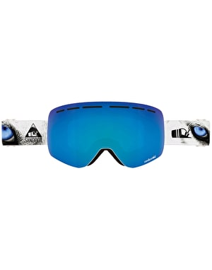 Sandbox The Kingpin 2019 Snowboard Goggles - Arctic/Blue Ion
