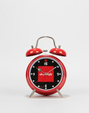 Chocolate Red Square Alarm Clock - Multi