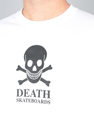 Death OG Skull L/S T-Shirt - White
