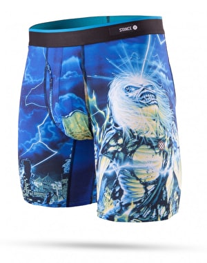 Stance Iron Maiden Boxer Shorts - Black