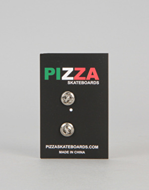 Pizza Bear Pin - Multi