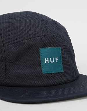 HUF Box Logo Volley 5 Panel Cap - Midnight