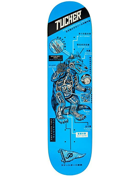 Primitive Tucker Kaiju Skateboard Deck - 8.5""