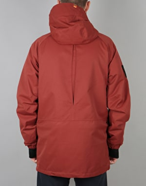 ThirtyTwo Warsaw 2018 Snowboard Jacket - Oxblood