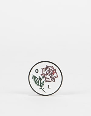 The Quiet Life Rose Pin - Metal