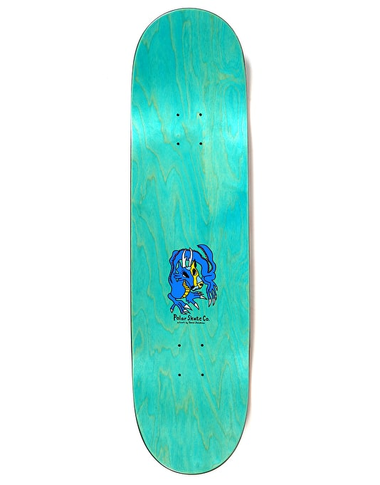 Polar Oskar Dragon Sunset Skateboard Deck - 8.5""