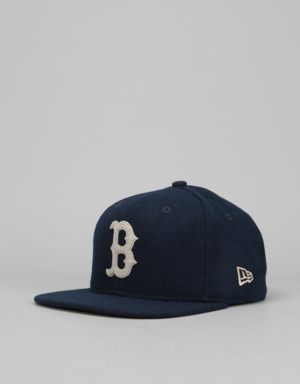 New Era 9Fifty MLB Boston Red Sox Melton Snapback Cap - Navy ... 689976c4092