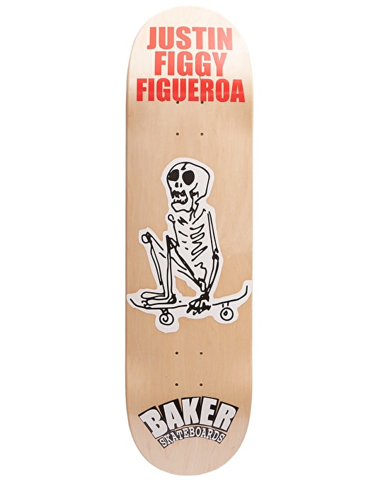 Baker Figgy From The Grave Skateboard Deck - 8.5""