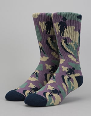 Girl Jungle OG Socks - Purple