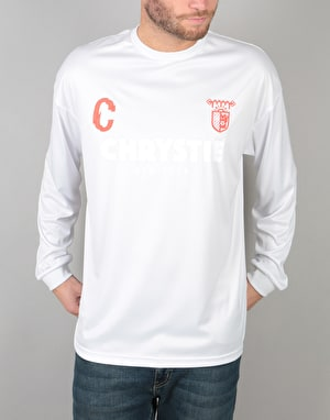 Chrystie x CSC L/S Soccer Jersey - White/Red
