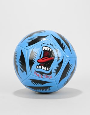 Santa Cruz Screaming Hand Football - Blue