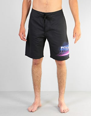 RIPNDIP Rave Swim Shorts - Black