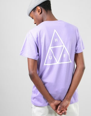 HUF Triple Triangle T-Shirt - Lavender